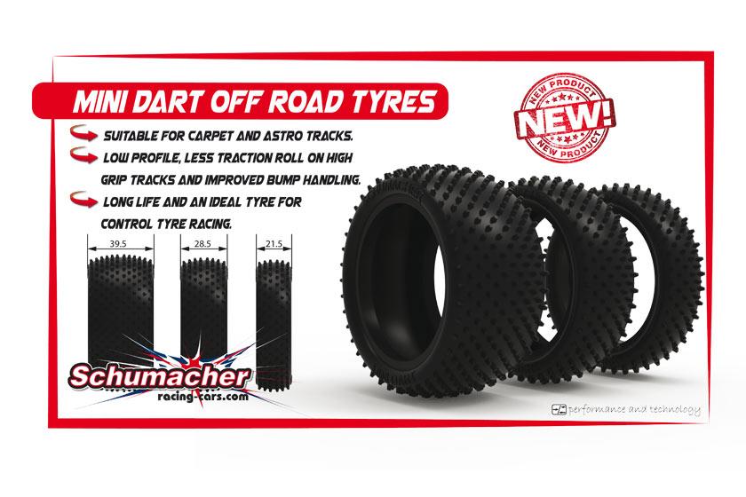 Den Schumacher Mini Dart Reifen