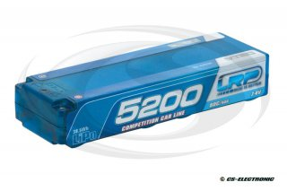 LRP LiPo Competition Car Line Hardcase 5200 - 80C/40C - 7.4V