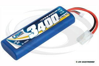 LRP LiPo Power Pack 3400 - 7.4V - 30C - Stickpack Hardcase