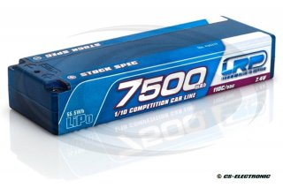 LRP 7500 - TC Stock Spec - 110C/55C - 7.4V LiPo - 1/10...