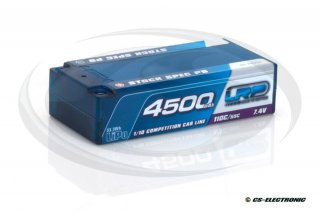 LRP 4500 - Shorty Stock Spec P5 - 110C/55C - 7.4V LiPo -...