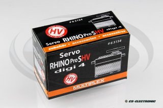 Multiplex Servo Rhino Pro SHV digi 4 High Voltage 7,4 V...