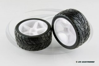VTEC 1/10 Off-Road Buggy -Racing Slick- Komplettrad...