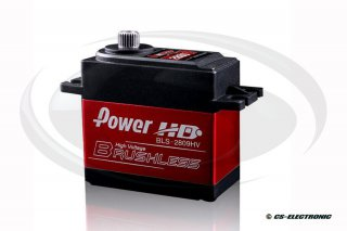 Power HD Brushless Servo (28kg/0,09s/7,4-Lipo) und...