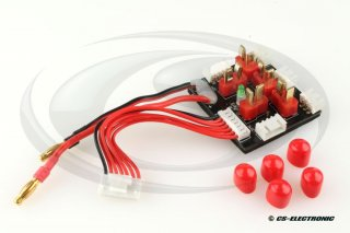 Multi Charge XH Adapter Board 2 x 3S oder 3 x 2S Dean / XH