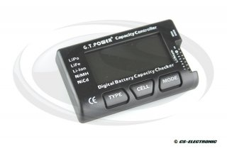Digital Battery Capacity Checker/ Analyser, LiPo,LiFe,...