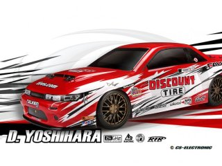 H112856 - 1/18 Micro RS4 Drift RTR mit Nissan S13...