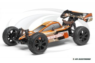 LRP 1/8  4WD Desertwolf Brushless Buggy, 2.4GHz -RTR-
