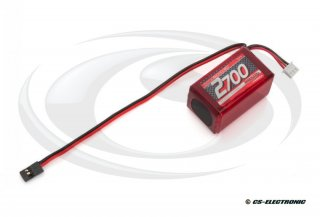NOSRAM - VTEC LiPo 2700 RX-Pack 2/3A Hump - RX-only - 7.4V