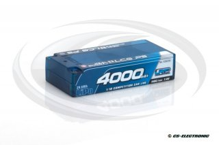 LRP 4000 - Real Shorty LCG P5 - 110C/55C - 7.4V LiPo -...
