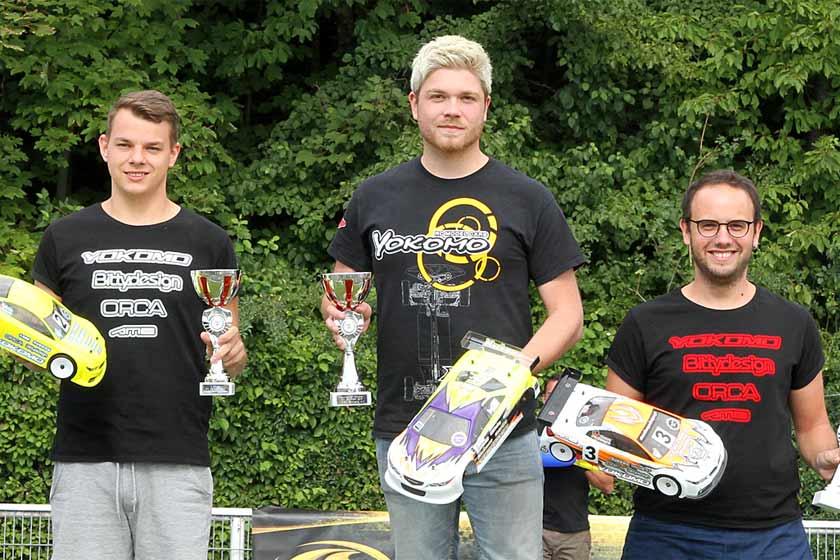 Martin Hofer ist Deutscher Meister TW Stock mit CSX 13.5T Motor