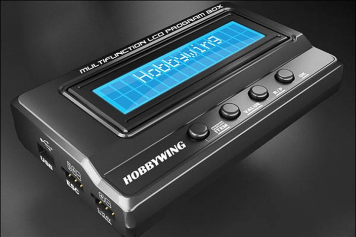 Hobbywing Multifunktions LCD Programmierbox