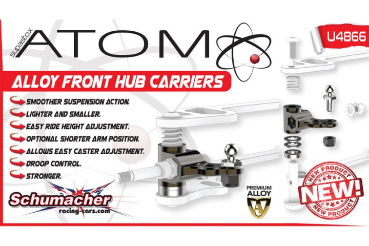Alloy Hub Carriers - Atom