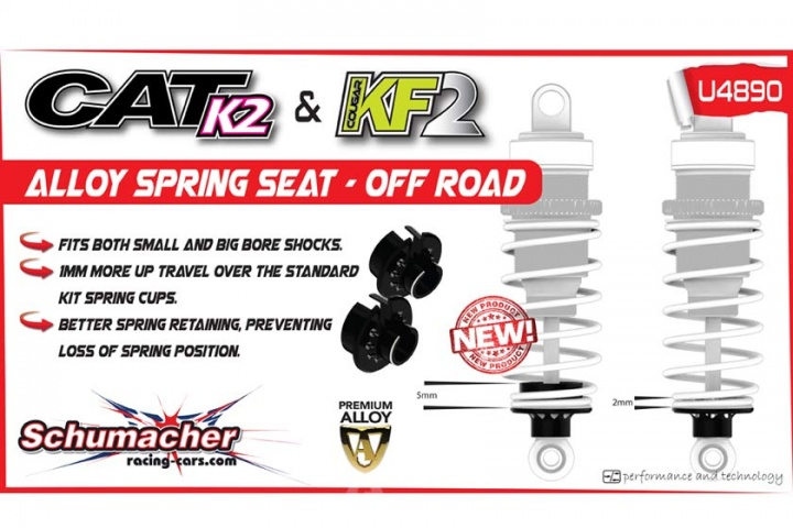 Alloy Spring Seat - CAT K1 / K2