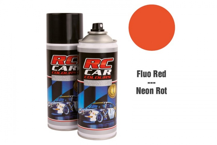 RC Car Colours - Lexan Spray Rot Fluoreszierend 150ml Lexanfarbe