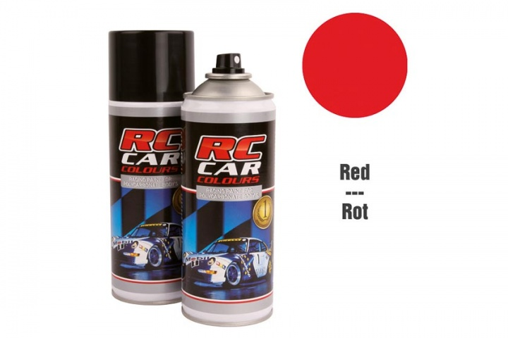 RC Car Colours - Lexan Spray Rot 150ml Lexanfarbe