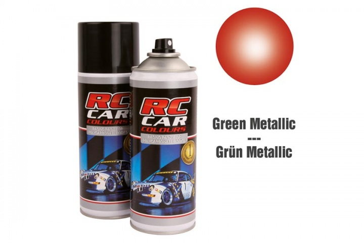 RC Car Colours - Lexan Spray Rot Metallic 150ml Lexanfarbe