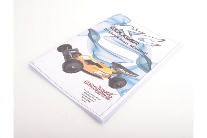 Schumacher manuale di istruzioni-Cougar KC-U7033