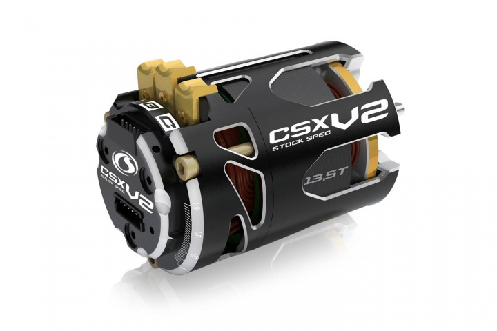 CSX StockSpec -V2- 540 Brushless Motor sensored 13.5T -3600kv- 1-3S