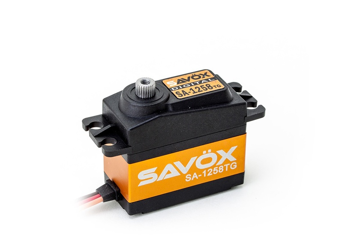 12.0kgcm//0.08s//6.0V SAVÖX Digital-Servo SC-1258TG