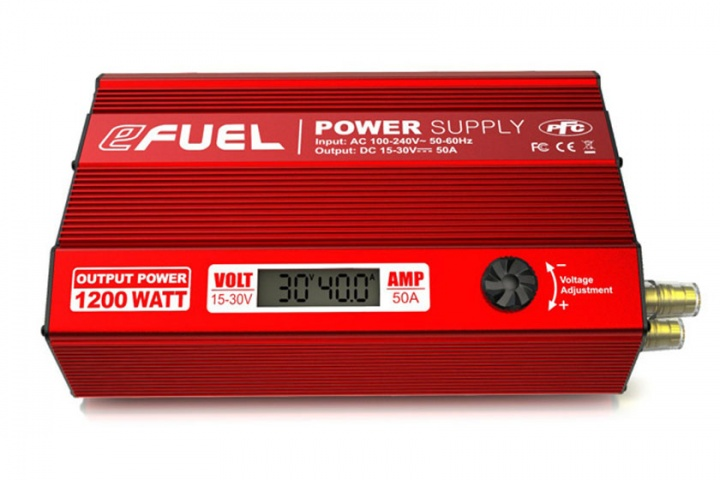 SKYRC eFuel 1200W Power Schaltnetzteil / Power Supply 50A, regelbar 18-30V / Version 2