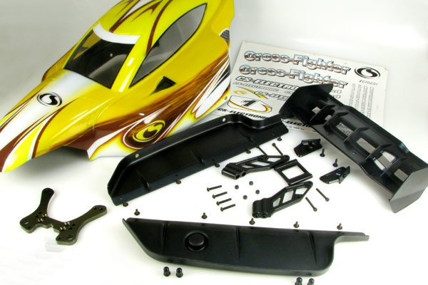 Tunning Race Kit OR6 für 1/6 Scale Cross-Fighter